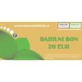 Darilni bon -20 eur