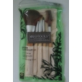 5 pcs makeup brushes - earth friendly